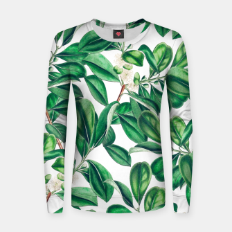 Thumbnail image of Botanica Woman cotton sweater, Live Heroes