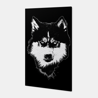 Thumbnail image of gxp dog hund husky face gesicht spray art sprüh kunst graffiti Canvas, Live Heroes