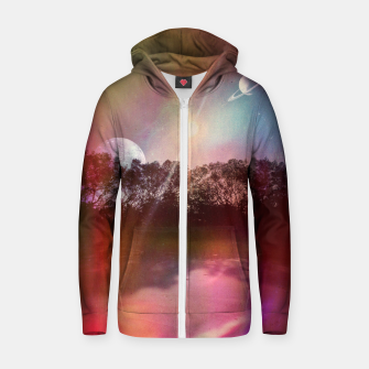 Imagen en miniatura de 8:13 AM Cotton zip up hoodie, Live Heroes