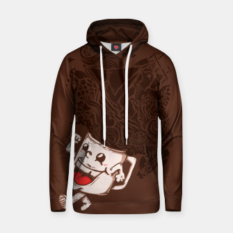 Thumbnail image of Morning Coffee - Cotton hoodie, Live Heroes