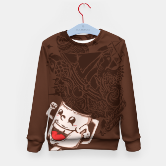 Thumbnail image of Morning Coffee - Kid's sweater, Live Heroes