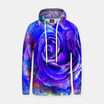 Thumbnail image of Purple Rose Cotton hoodie, Live Heroes