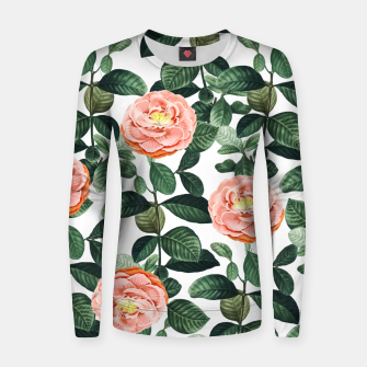 Thumbnail image of Josephine Woman cotton sweater, Live Heroes