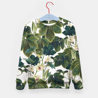 Thumbnail image of Wild Forest Kid's sweater, Live Heroes