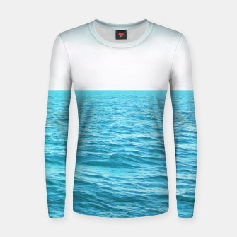 Thumbnail image of Oceana Woman cotton sweater, Live Heroes