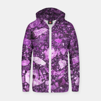 Amelthyst Cotton zip up hoodie thumbnail image