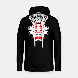 Thumbnail image of Ancient Tribal Native Mask Cotton hoodie, Live Heroes