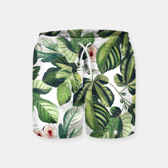 Thumbnail image of Fig Garden Swim Shorts, Live Heroes