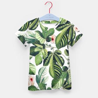 Thumbnail image of Fig Garden Kid's t-shirt, Live Heroes