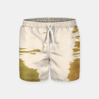 Thumbnail image of Blush Gold Swim Shorts, Live Heroes
