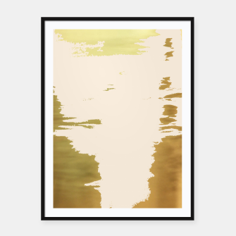 Thumbnail image of Blush Gold Framed poster, Live Heroes