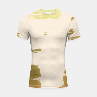 Thumbnail image of Blush Gold Shortsleeve rashguard, Live Heroes