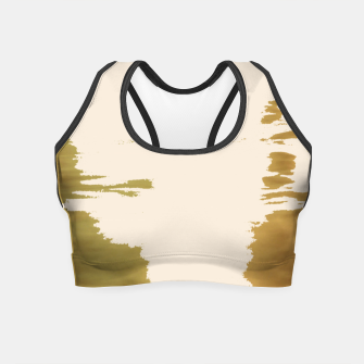 Thumbnail image of Blush Gold Crop Top, Live Heroes