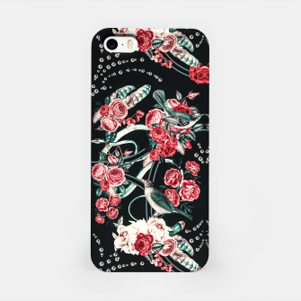Thumbnail image of Dark mosaic of wild roses Carcasa por Iphone, Live Heroes