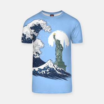Thumbnail image of Tsunami in New York Camiseta, Live Heroes