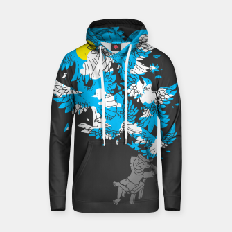 Thumbnail image of BREAK, AND FREE YOUR MIND - Cotton hoodie, Live Heroes