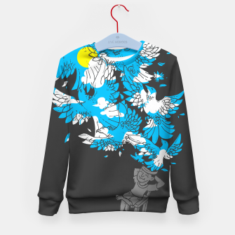 Thumbnail image of BREAK, AND FREE YOUR MIND - Kid's sweater, Live Heroes