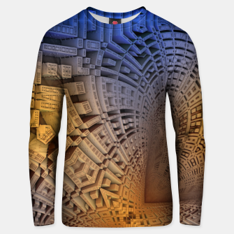 Thumbnail image of Golden Puzzle KM Blue Hue Cotton sweater, Live Heroes