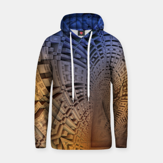 Thumbnail image of Golden Puzzle KM Blue Hue Cotton hoodie, Live Heroes