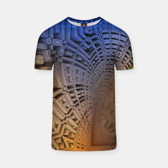 Thumbnail image of Golden Puzzle KM Blue Hue T-shirt, Live Heroes