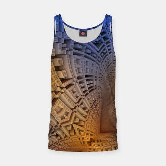 Thumbnail image of Golden Puzzle KM Blue Hue Tank Top, Live Heroes