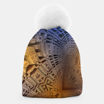 Thumbnail image of Golden Puzzle KM Blue Hue Beanie, Live Heroes