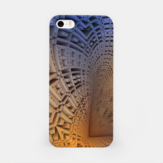 Thumbnail image of Golden Puzzle KM Blue Hue iPhone Case, Live Heroes