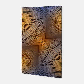 Thumbnail image of Golden Puzzle KM Blue Hue Canvas, Live Heroes