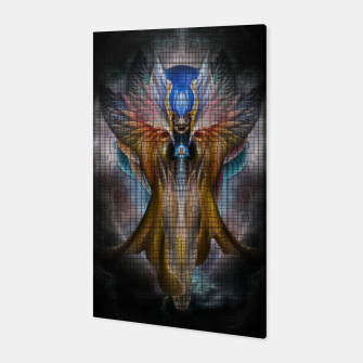 Thumbnail image of Caged Beauty Canvas, Live Heroes