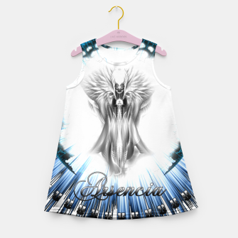 Thumbnail image of Arsencia Ethereal Silver Light Girl's summer dress, Live Heroes