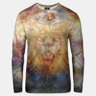 Thumbnail image of lion an lioness oneness Cotton sweater, Live Heroes