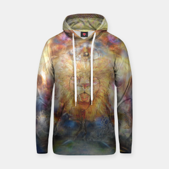 Thumbnail image of lion an lioness oneness Cotton hoodie, Live Heroes