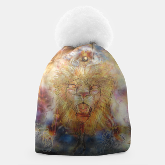 Thumbnail image of lion an lioness oneness Beanie, Live Heroes