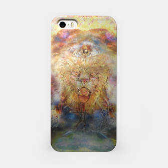 Thumbnail image of lion an lioness oneness iPhone Case, Live Heroes