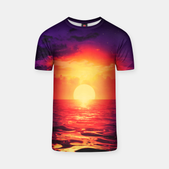 Thumbnail image of Fire purple cloud by #Bizzartino T-shirt, Live Heroes