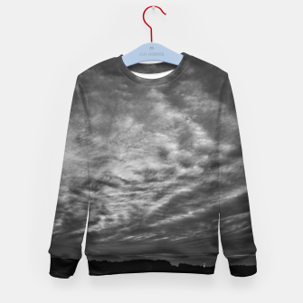 Thumbnail image of Dramatic Sky Kid's sweater, Live Heroes