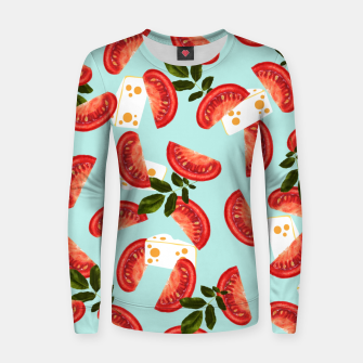 Thumbnail image of Caprese W Woman cotton sweater, Live Heroes