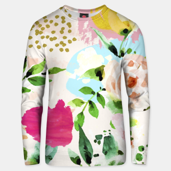 Thumbnail image of Floral Blush Cotton sweater, Live Heroes