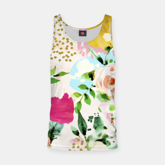 Thumbnail image of Floral Blush Tank Top, Live Heroes