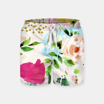 Thumbnail image of Floral Blush Swim Shorts, Live Heroes