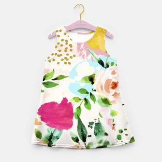 Thumbnail image of Floral Blush Girl's summer dress, Live Heroes