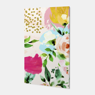 Thumbnail image of Floral Blush Canvas, Live Heroes