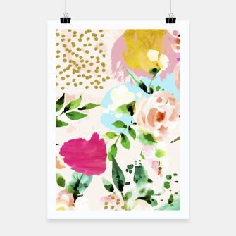 Thumbnail image of Floral Blush Poster, Live Heroes