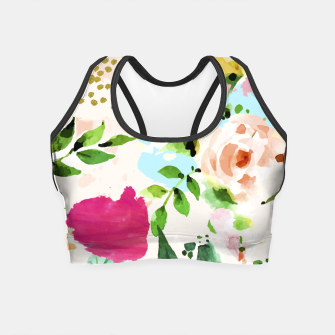 Thumbnail image of Floral Blush Crop Top, Live Heroes