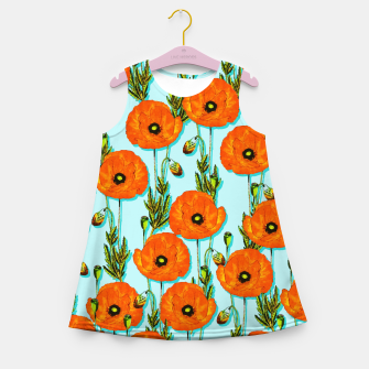 Thumbnail image of Peonies Girl's summer dress, Live Heroes