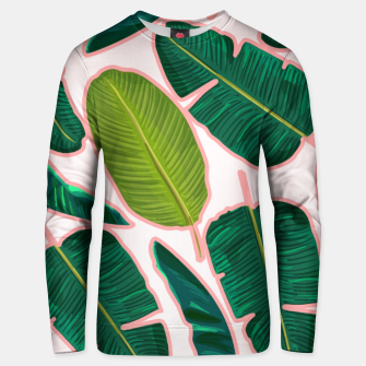 Thumbnail image of Banana Leaf Blush Cotton sweater, Live Heroes