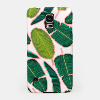 Thumbnail image of Banana Leaf Blush Samsung Case, Live Heroes