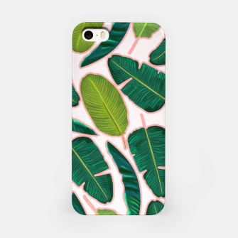 Thumbnail image of Banana Leaf Blush iPhone Case, Live Heroes