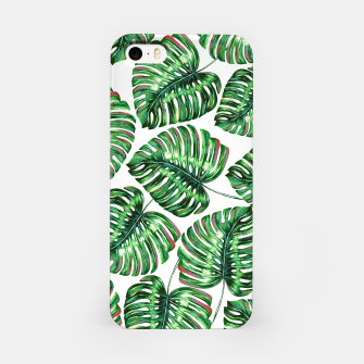 Thumbnail image of Tropical Greenery iPhone Case, Live Heroes