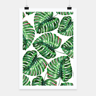 Thumbnail image of Tropical Greenery Poster, Live Heroes